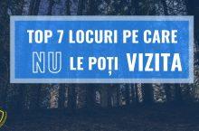 TOP 7 Locuri din lume pe care NU le poti VIZITA – Lux Pedia